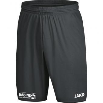 Sporthose Manchester 2.0 mit JAKO Logo, ohne Innenslip KA 38 anthrazit | 164