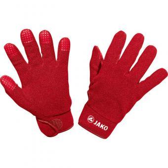 Feldspielerhandschuhe Fleece rot | 10