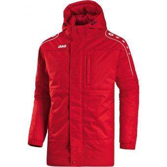 Coachjacke Active rot/weiß   128