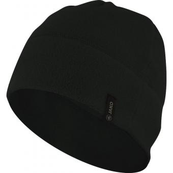 Fleecemütze schwarz | 2