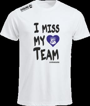 I Miss My Team Empor Erfurt weiss | S Damen