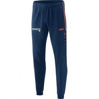 Polyesterhose Competition 2.0 navy/flame | M