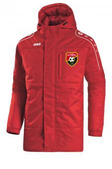Coachjacke Active Sportverein Witterda rot/weiß | 3XL