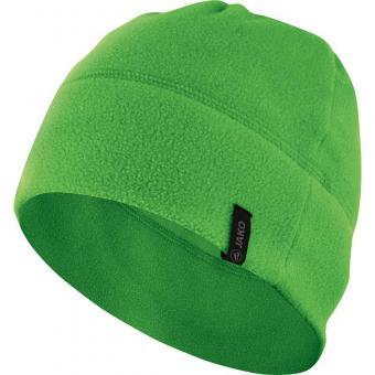 Fleecemütze soft green | 2