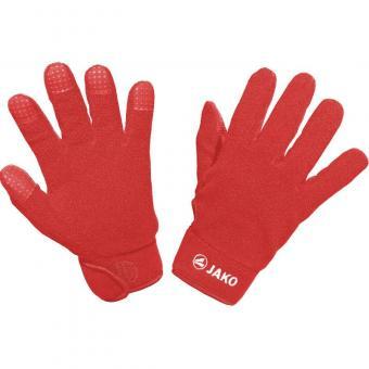 Feldspielerhandschuhe rot | 10