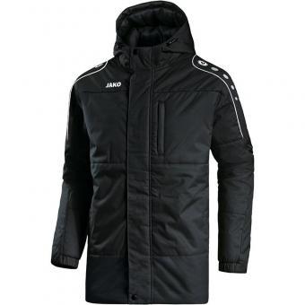 Coachjacke Active schwarz/weiß | 4XL