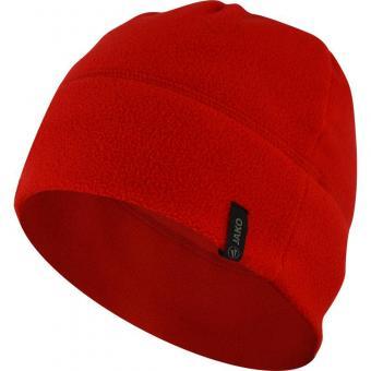 Fleecemütze rot | 2