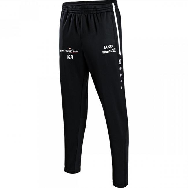 Trainingshose Active SWE Volley-Team schwarz/weiß | XL