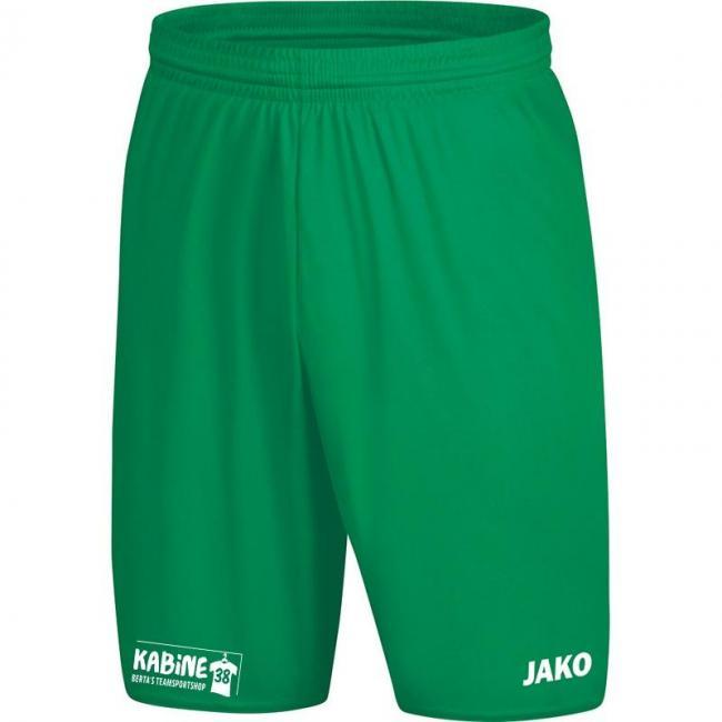 Sporthose Manchester 2.0 mit JAKO Logo, ohne Innenslip KA 38 sportgrün | 104