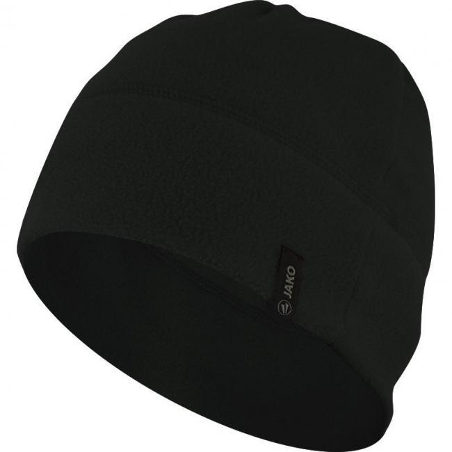 Fleecemütze schwarz   2