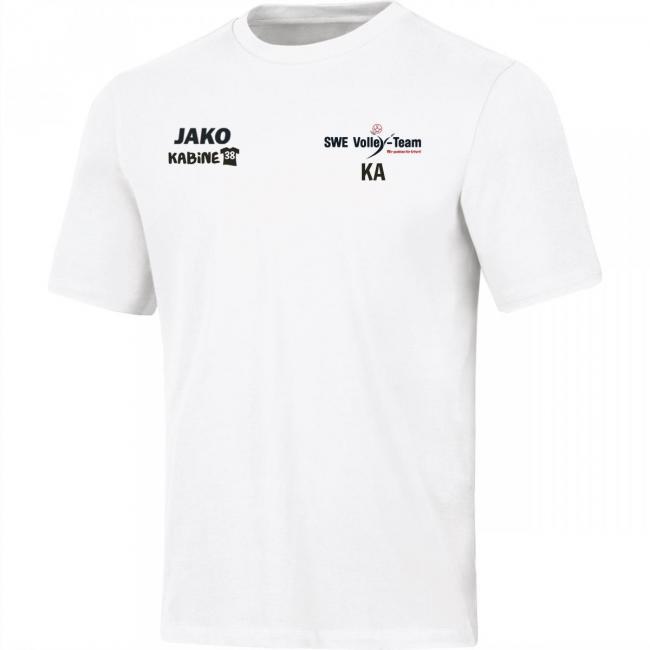 T-Shirt Base SWE Volley-Team weiss   164