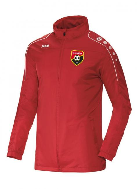 Allwetterjacke Team Sportverein Witterda rot | 3XL