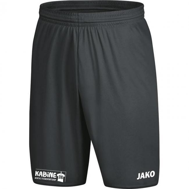 Sporthose Manchester 2.0 mit JAKO Logo, ohne Innenslip KA 38 anthrazit   M