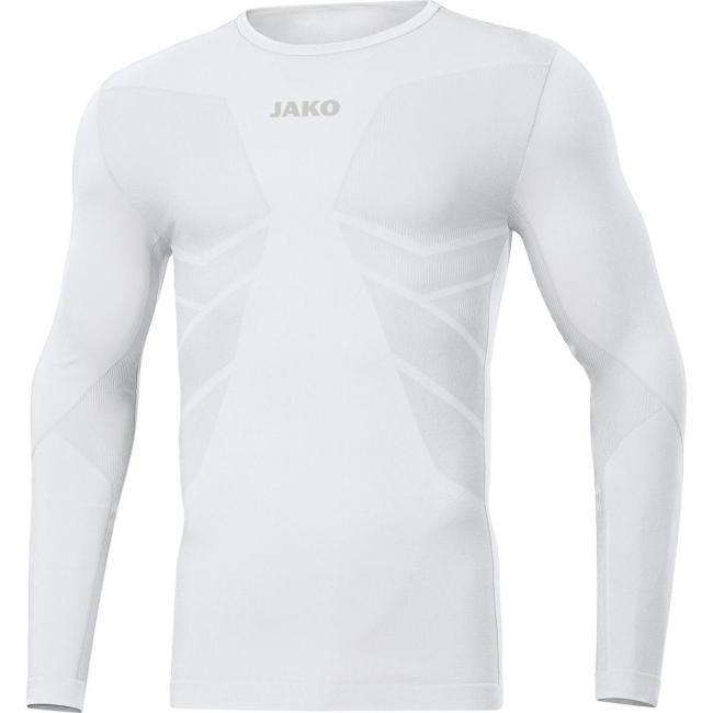 Longsleeve Comfort 2.0 weiß | XL
