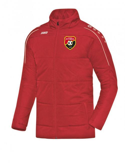 Coachjacke Classico Sportverein Witterda rot | 128