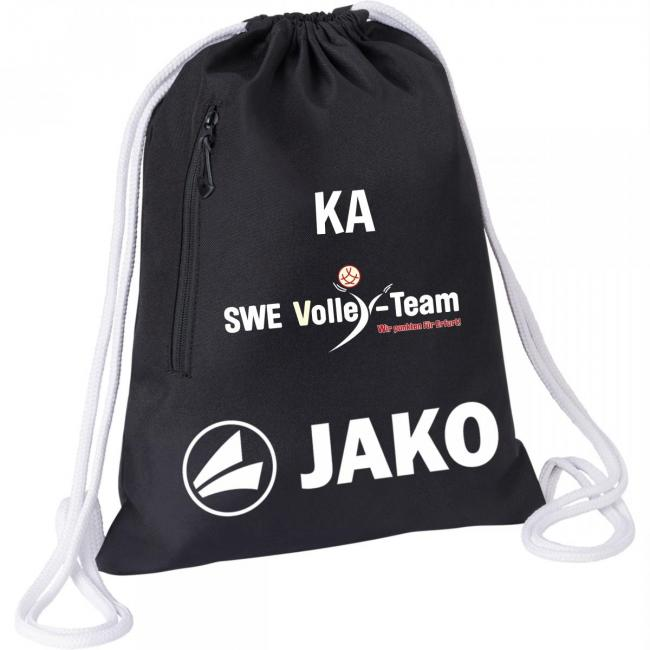 Gymsack JAKO SWE Volley-Team schwarz   0