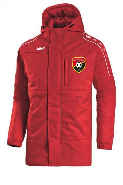 Coachjacke Active Sportverein Witterda rot/weiß | 128