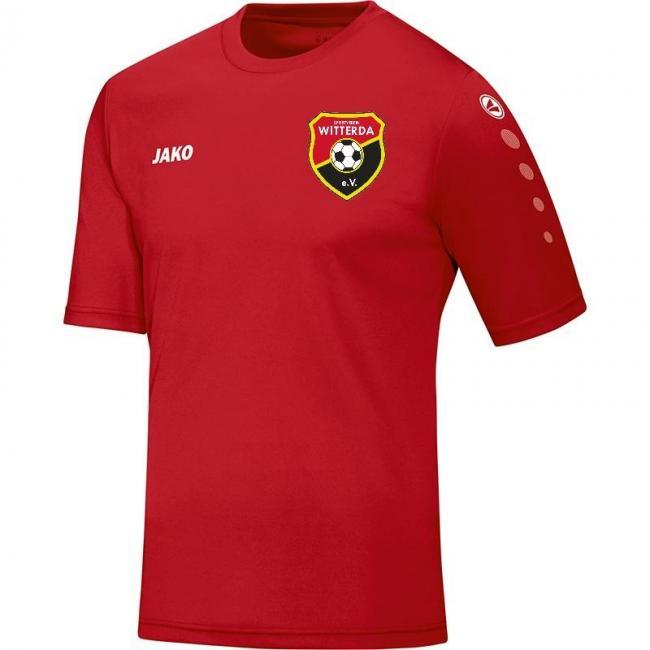 Trikot Team KA Sportverein Witterda rot | L