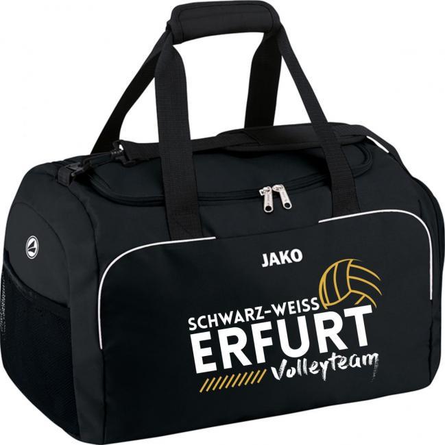 Sporttasche Classico Schwarz Weiss Erfurt Volley-Team schwarz | 1