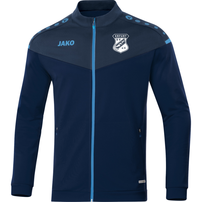 Polyesterjacke Champ 2.0 SV Empor Erfurt marine/bleu/skyblue | XXL