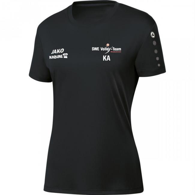 Trikot Team Damen SWE Volley-Team schwarz   36