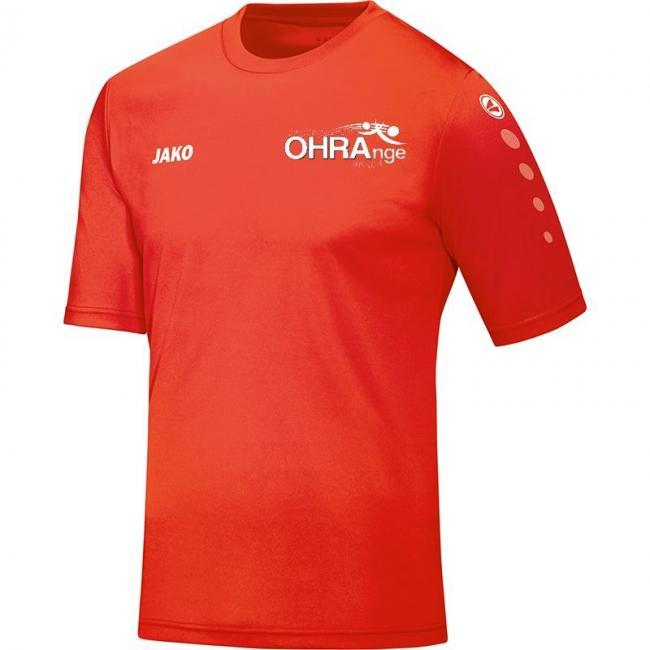 Trikot Team KA OHRAnge united flame   XL