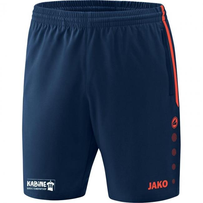 Short Competition 2.0 KA 38 navy/flame | 3XL