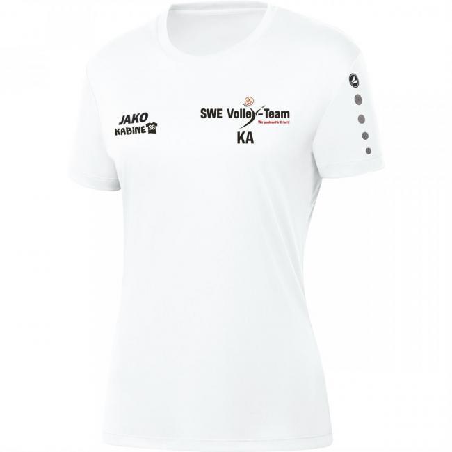 Trikot Team Damen SWE Volley-Team weiß   40