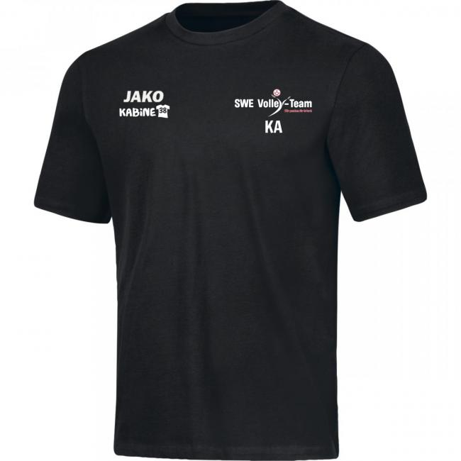 T-Shirt Base SWE Volley-Team schwarz | L