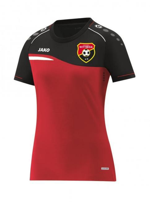 T-Shirt Competition 2.0 Sportverein Witterda rot/schwarz | 40