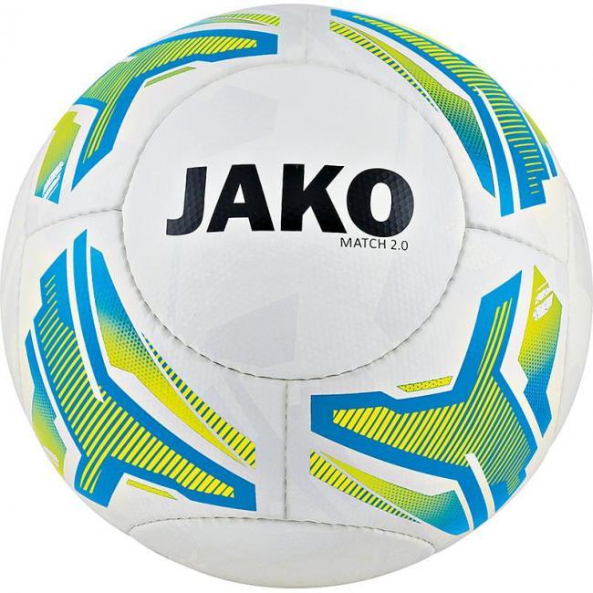 Lightball Match 2.0 HS, 14 P weiß/neongelb/JAKO blau-350g   4