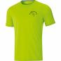 T-Shirt Run 2.0 Barfüßerschule Erfurt  Farbe neongrün
