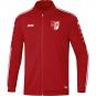 Polyesterjacke Striker 2.0 SV Fortuna Ermstedt  Farbe chili rot/weiß