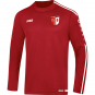 Sweat Striker 2.0 SV Fortuna Ermstedt  Farbe chili rot/weiß