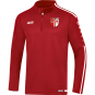 Ziptop Striker 2.0 SV Fortuna Ermstedt  Farbe chili rot/weiß